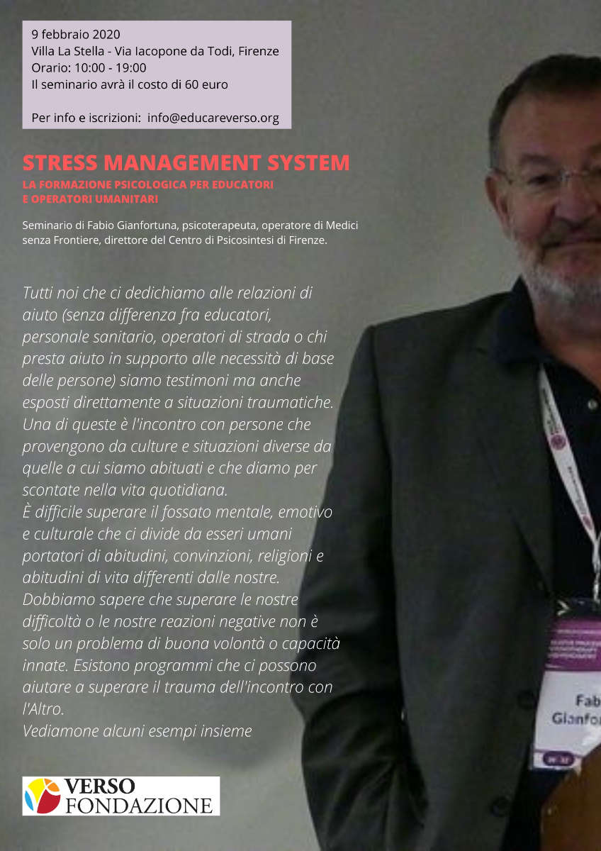 Seminario: STRESS MANAGEMENT SYSTEM